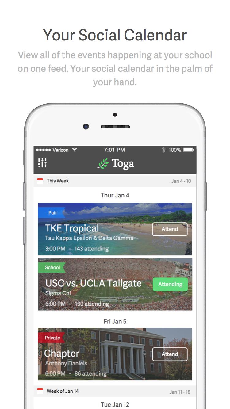 Toga app